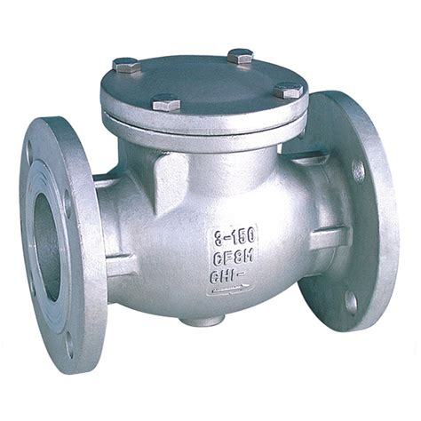 swing check valve stainless steel swing check valve flanged ansi 150