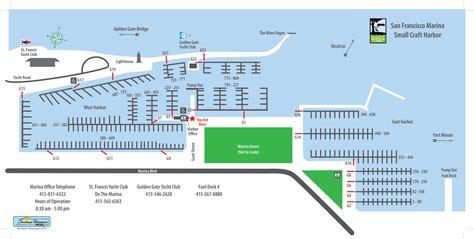 san francisco harbour map san francisco marina small craft harbor cing in
