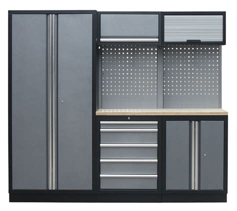 used metal cabinets for garage metal furniture garage tool storage cabinets with wall