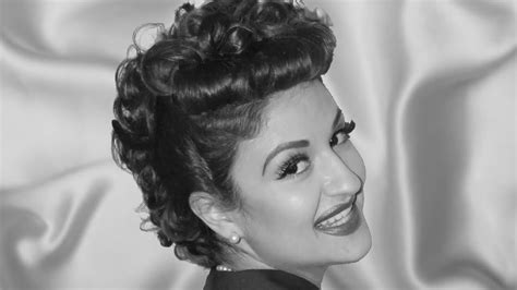 lucille ball inspired hair tutorial  long hair youtube
