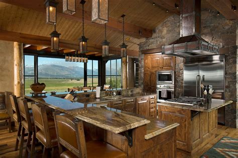 mountain home kitchen cabinetry