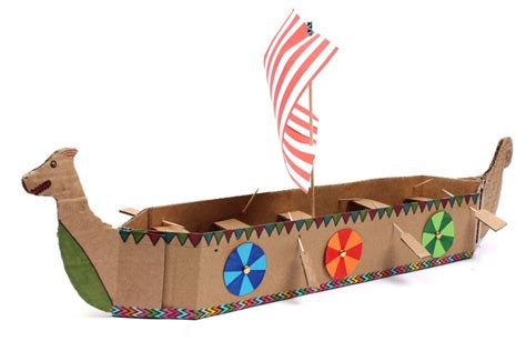how to make a boat for school project how to make a viking longboat vikings history and school