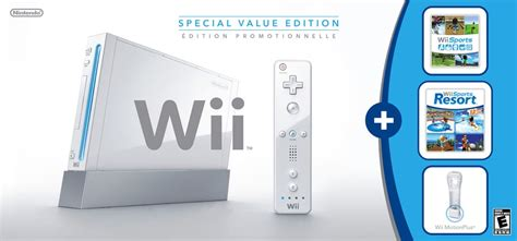 wii console sports resort bundle walmart exclusive wii bundle includes wii sports resort