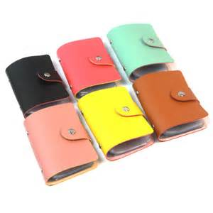 business card credit card holder 2015 new1pcs s leather credit card holder card