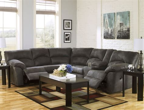 tambo pewter reclining sectional sofa s3net sectional