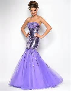 Prom Dress Boutiques 2015 Purple Prom Dresses Strapless Sweep