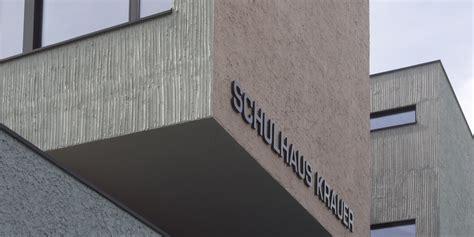 Sockel Architektur by Sanierung Schulhaus Krauer Kriens Schnieper Architekten
