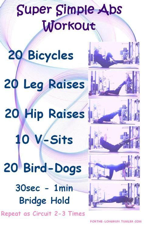best exercise website best 25 simple ab workout ideas on floor ab