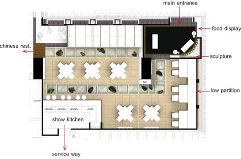 auto cad floor plan hado japanese restaurant and gallery grand four wings convention hotel napong kulangkul