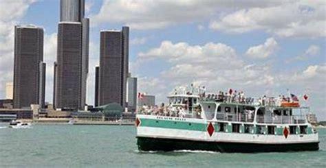 detroit river boat tours diamond jack s river tours wyandotte diamond jack s