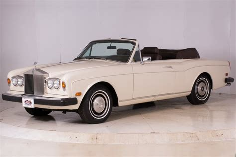 1978 rolls royce corniche 1978 rolls royce corniche volo auto museum