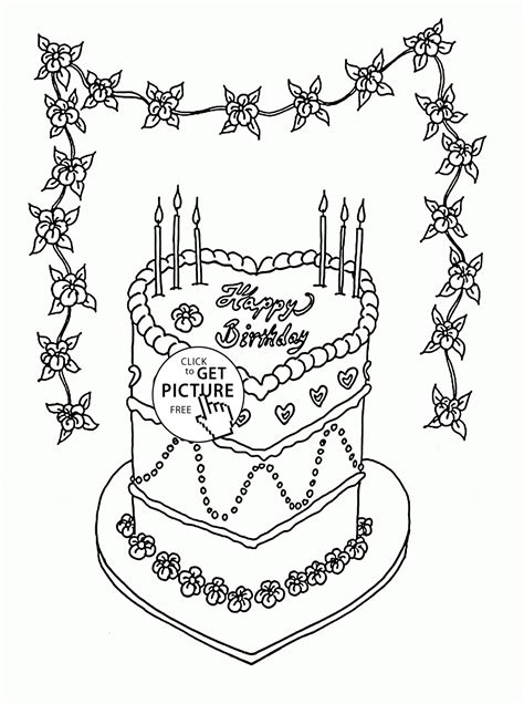 princess birthday cake coloring page pin pin resume sles operations manager cake on