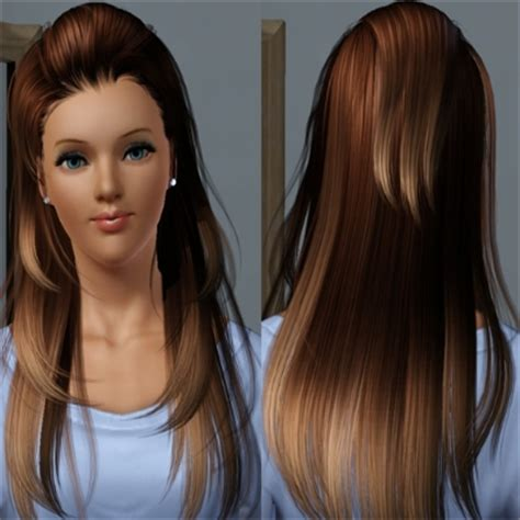 the sims 3 haircolors ombre hair by metzemaus the exchange community the