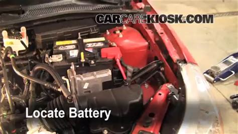2005 ford focus battery how to clean battery corrosion 2005 2007 ford focus