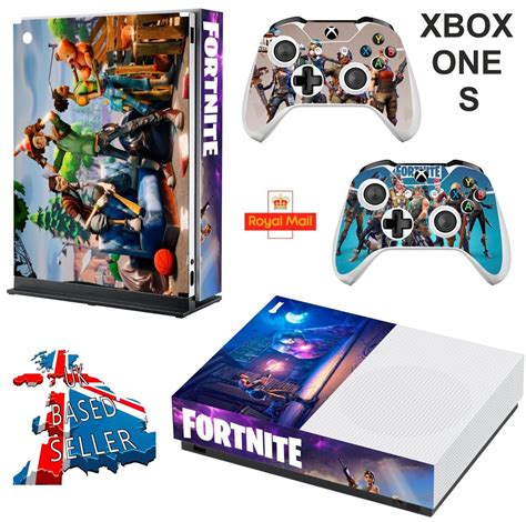 fortnite for xbox one fortnite xbox one s slim textured vinyl protective