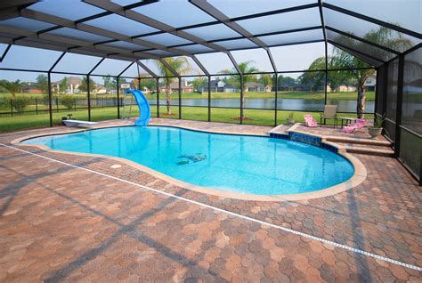 enclosed pools sunrise screen pool k d service group