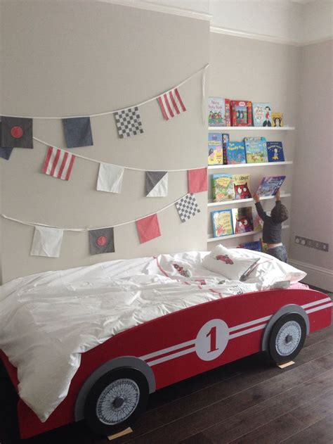 race car bedroom racing car themed room vintage racing car bed from maison