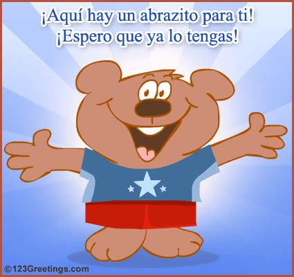 Gift Card In Spanish - a cute ecard in spanish free cute etc ecards greeting cards 123 greetings