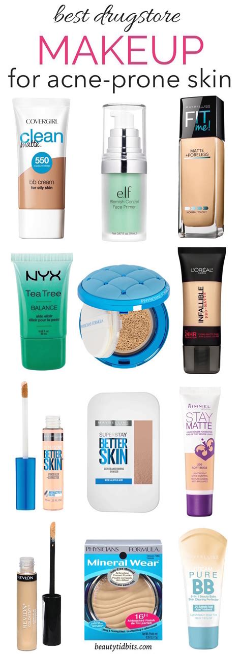 best bb brand best drugstore makeup for acne prone skin