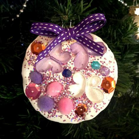 tree decorations children can make ornaments plaster of decorations