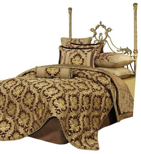 victorian comforter sets king austin horn classics elizabeth 4 piece bedding collection