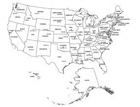 us capitals map blank blank states map dr