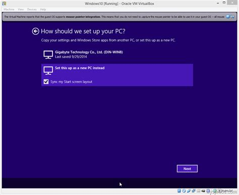 install windows 10 new computer install windows 10 on virtualbox and it s guest additions