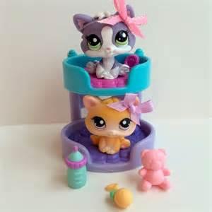 littlest pet shop pair of kittens 114 2033 w