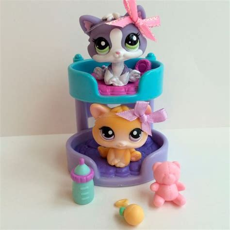 littlest pet shop pair of kittens 114 2033 w