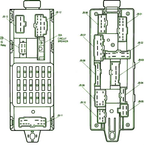 1988 mazda 323 fuse box diagram circuit wiring diagrams