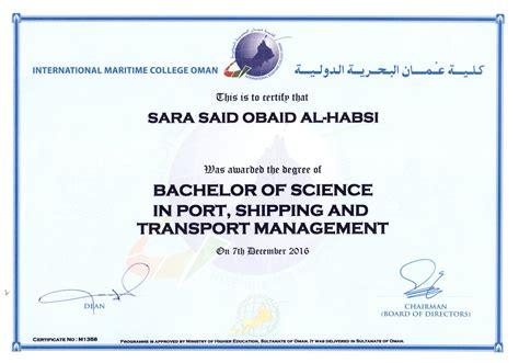 Mba In Shipping And Port Management Colleges In India by Alhabsi Bayt