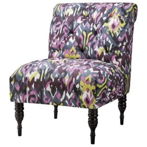 vaughn tufted slipper chair 11 best images about armless chairs with character on