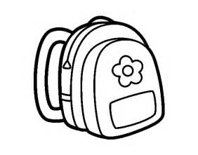 backpack coloring page backpack coloring pages bestofcoloring