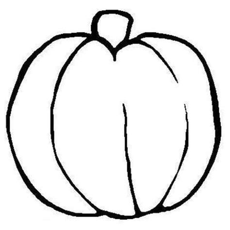 coloring pages preschool easy fall pumpkin coloring pages