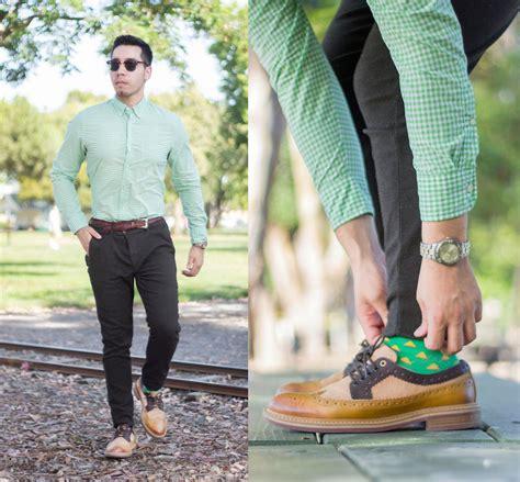 Brown And Green Shirt green shirt brown pant ne