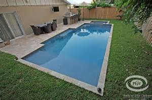 pools for small spaces designs for small spaces traditional pool