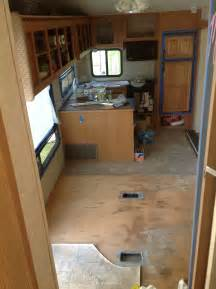 rv renovation ideas renovating our 5th wheel cer a diy follow the high