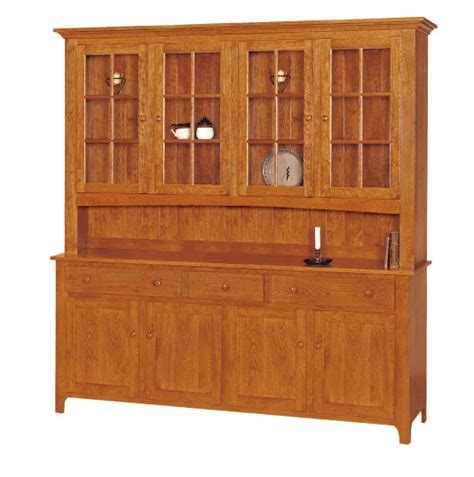 shaker solid wood  door hutch shaker style hutches