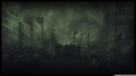 wallpaper keren zombie zombies computer wallpapers desktop backgrounds