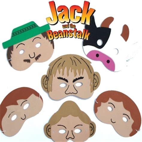 printable masks jack and the beanstalk jack and the beanstalk masks fairy tale storytelling set