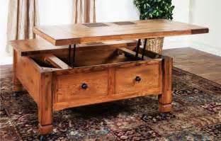 tisch mit stauraum 35 creative lift top coffee table ideas