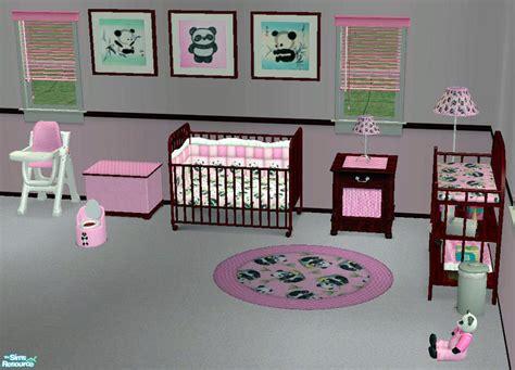 Gmb Set Mounie Panda Pink red1060 s s pink panda nursery