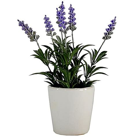 artificial bathroom plants lavender artificial tabletop plant bed bath beyond