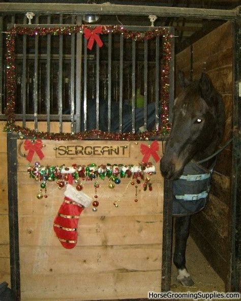 christmas decorating with horses best 25 stall decorations ideas on stall decorations decorations and