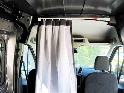 minivan privacy curtains mod cabin curtain cargovanconversion com
