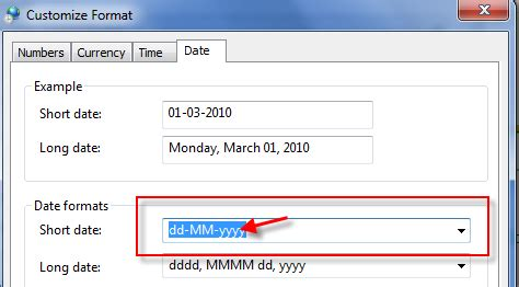 format date mm dd yyyy change date format in windows 7 8 1 and windows 10 to dd