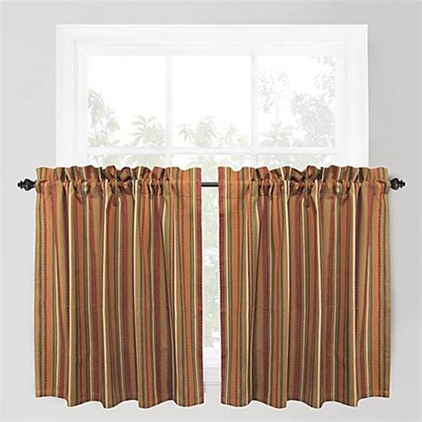 Buy Park B Smith Raynier 36 Inch Window Curtain Tier Pair 36 Kitchen Curtains