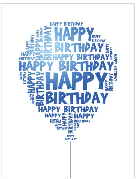 birthday cards templates for him 40 free birthday card templates template lab