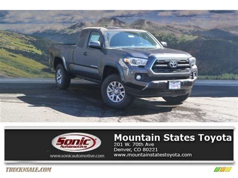Mtn States Toyota 2017 Toyota Tacoma Sr5 Access Cab 4x4 In Magnetic Gray