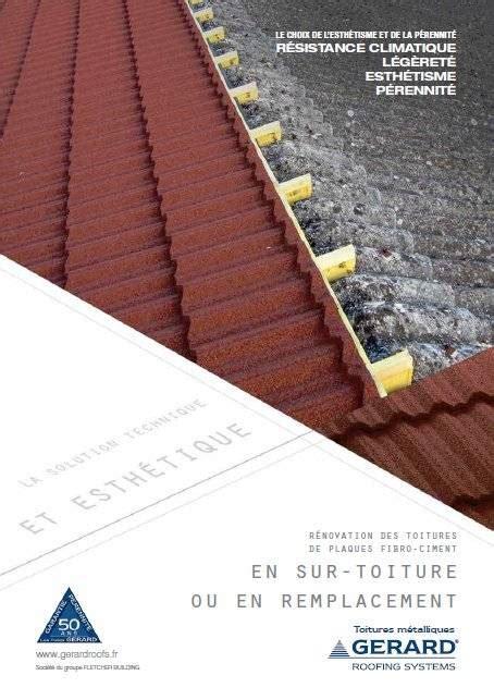 Tuile Fibrociment by Brochure Tuiles Gerard R 233 Novation Fibro Ciment